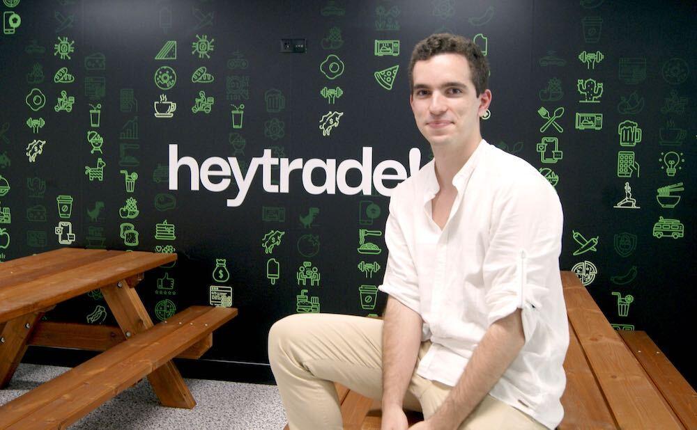 El día a día de Javier Lougedo, Junior FrontEnd Developer en HeyTrade